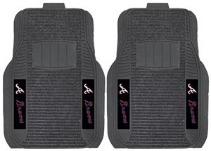 Fan Mats Atlanta Braves Deluxe Car Mats