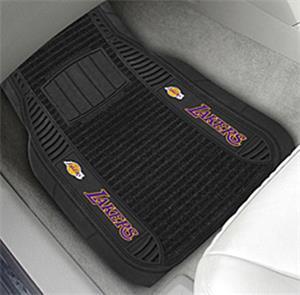 Fan Mats Los Angeles Lakers Deluxe Car Mats (set)