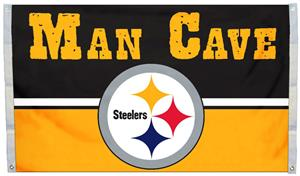 BSI NFL Pittsburgh Steelers Man Cave 3' x 5' Flag