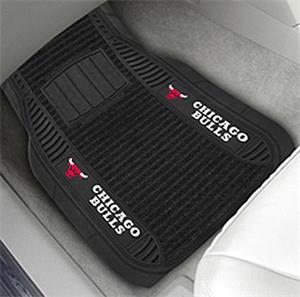 Fan Mats Chicago Bulls Deluxe Car Mats
