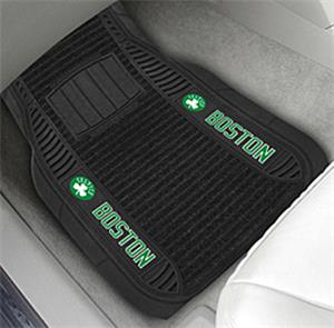 Fan Mats Boston Celtics Deluxe Car Mats