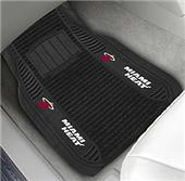 Fan Mats Miami Heat Deluxe Car Mats (set)