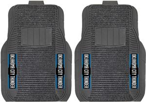 Fan Mats Oklahoma City Thunder Deluxe Car Mats