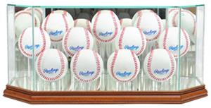 "Perfect Cases ""11 Baseball"" Octagon Display Cases"