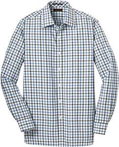 Red House Mens Tricolor Check Non-Iron Shirt