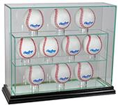 "Perfect Cases ""10 Baseball"" Upright Display Cases"