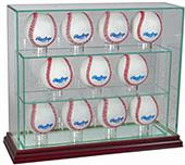 "Perfect Cases ""11 Baseball"" Upright Display Cases"