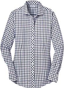 Red House Ladies Non-Iron Tricolor Check Shirts
