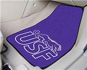 Fan Mats Univ of Sioux Falls Carpet Car Mats (set)
