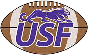 Fan Mats University of Sioux Falls Football Mat