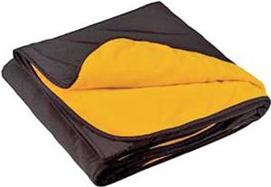 Port Authority Fleece and Nylon Travel Blanket