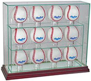 "Perfect Cases ""12 Baseball"" Upright Display Cases"