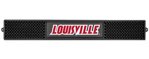 Fan Mats NCAA University of Louisville Drink Mat