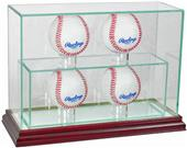 "Perfect Cases ""4 Baseball"" Upright Display Cases"