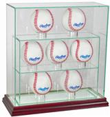 "Perfect Cases ""7 Baseball"" Upright Display Cases"