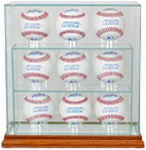 "Perfect Cases ""9 Baseball"" Upright Display Cases"