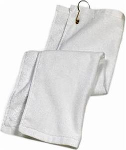 Port Authority Terry Velour Grommeted Golf Towel