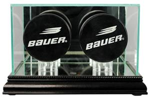 Perfect Cases Double Hockey Puck Display Cases