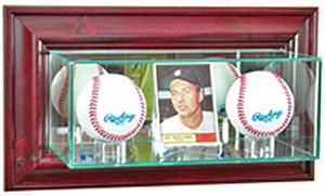 Perfect Cases Wall Mounted Card/2 Baseball Display