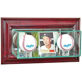 Perfect Cases Wall Mounted Card/2 Baseball Display