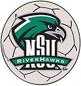 Fan Mats Northeastern State Univ. Soccer Ball Mat