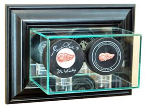 Perfect Cases Wall Mounted Double Puck Display
