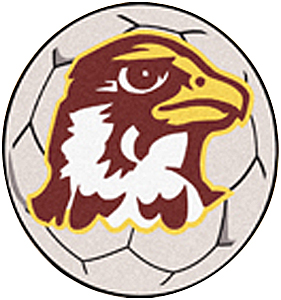 Fan Mats Quincy University Soccer Ball Mat