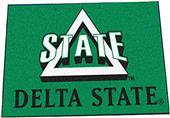 Fan Mats Delta State University Starter Mat