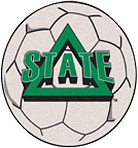 Fan Mats Delta State University Soccer Ball Mat