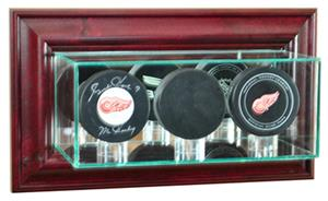 Perfect Cases Wall Mounted Triple Puck Display