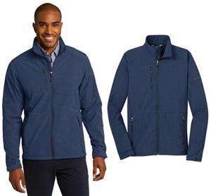 Eddie Bauer Mens Crosshatch Soft Shell Jacket