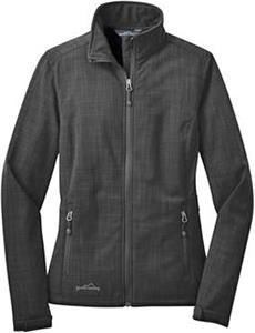 Eddie Bauer Ladies Crosshatch Soft Shell Jacket