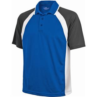 Charles River Men's Ares Button Polo Shirt
