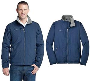 Eddie Bauer Mens Fleece-Lined Jacket - Soccer Equipment and Gear