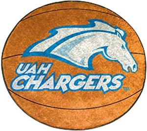 Fan Mats U. of Alabama-Huntsville Basketball Mat
