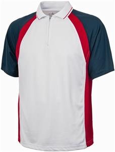 Charles River Men's Trinity Zip Polo Shirt