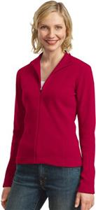 Port Authority Ladies Flatback Rib Full-Zip Jacket