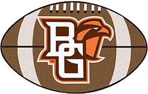 Fan Mats Bowling Green State Univ. Football Mat
