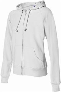 Bella+Canvas Ladies Raglan Full Zip Hoodie