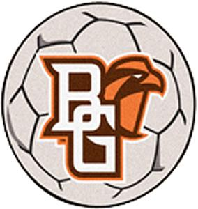 Fan Mats Bowling Green State Univ. Soccer Ball Mat