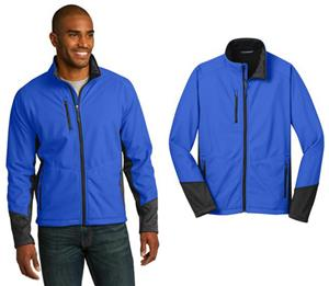 Port Authority Mens Vertical Soft Shell Jacket
