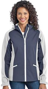 Port Authority Ladies Hooded Soft Shell Jacket