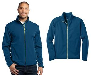 Port Authority Mens Traverse Soft Shell Jacket