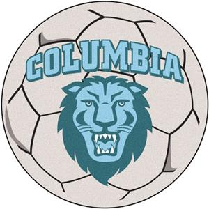 Fan Mats Columbia University Soccer Ball Mat