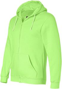 Bayside Heavyweight Full Zip Hooded Sweatshirt