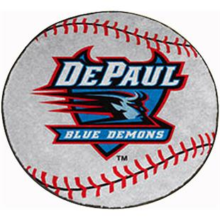 Fan Mats DePaul University Baseball Mat