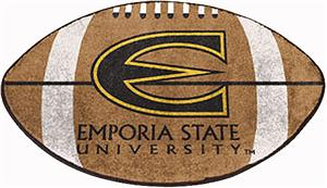 Fan Mats Emporia State University Football Mat