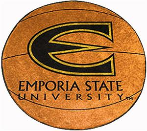Fan Mats Emporia State University Basketball Mat