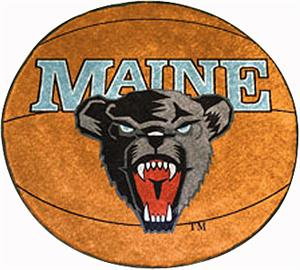 Fan Mats University of Maine Basketball Mat