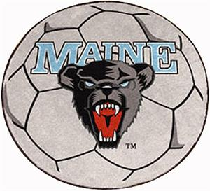 Fan Mats University of Maine Soccer Ball Mat